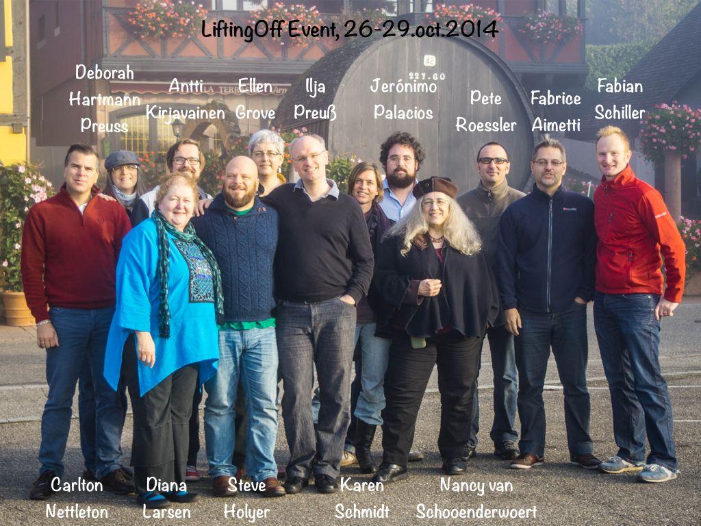 #LiftingOff October 26-29, 2014 The Alsace, France